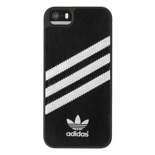 adidas Originals ケース ブラック/シルバー iPhone SE/5s/5