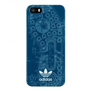 iPhone SE/5s/5 ケース adidas Originals TPUケース Blue Sole iPhone SE/5s/5