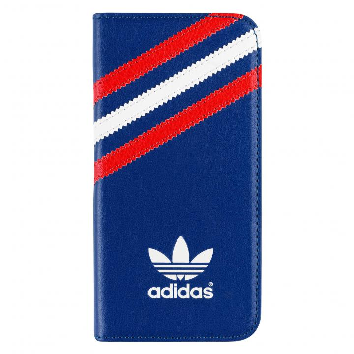 iPhone SE/5s/5 ケース adidas Originals 手帳型ケース ブラック/レッド/ホワイト iPhone SE/5s/5_0