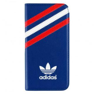 【iPhone SE/5s/5ケース】adidas Originals 手帳型ケース ブラック/レッド/ホワイト iPhone SE/5s/5