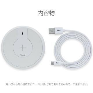 TorriiBolt USBハブ 急速Qiワイヤレス充電器(USB type C , type A対応 ) ホワイト_4