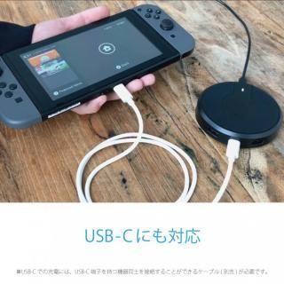 TorriiBolt USBハブ 急速Qiワイヤレス充電器(USB type C , type A対応 ) ホワイト_6