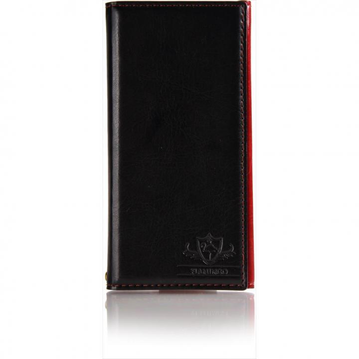 iPhone6s Plus/6 Plus ケース FLAMINGO PUレザー手帳型ケース ブラック iPhone 6s Plus/6 Plus_0