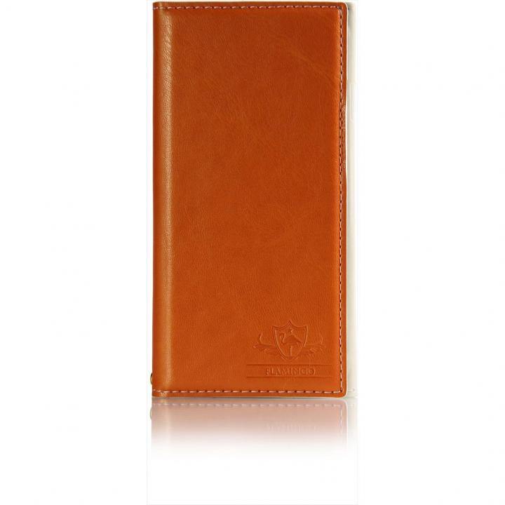 iPhone6s Plus/6 Plus ケース FLAMINGO PUレザー手帳型ケース オレンジ iPhone 6s Plus/6 Plus_0