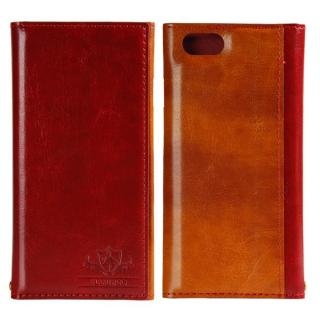 FLAMINGO PUレザー手帳型ケース レッド iPhone 6s/6