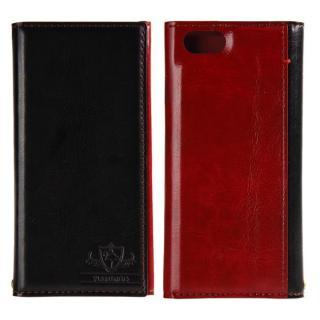 FLAMINGO PUレザー手帳型ケース ブラック iPhone 6s/6
