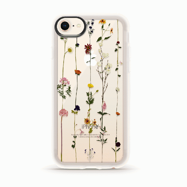 iPhone8/7 ケース CASETIFY FLORAL GRIP CASE ハードケース iPhone SE 第2世代/8/7_0