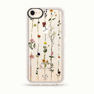 iPhone8/7 ケース CASETIFY FLORAL GRIP CASE ハードケース iPhone 8/7