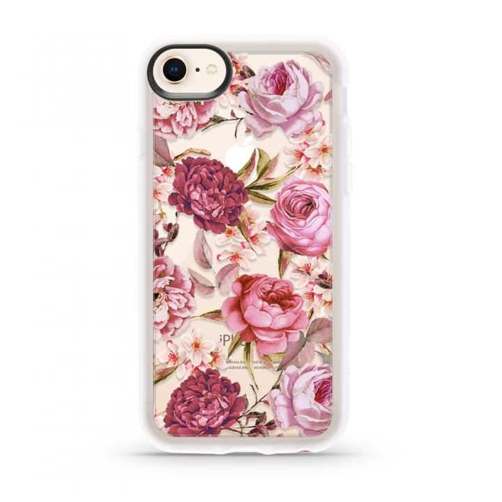 iPhone8/7 ケース CASETIFY BLUSH PINK ROSE GRIP CASE ハードケース iPhone SE 第2世代/8/7_0