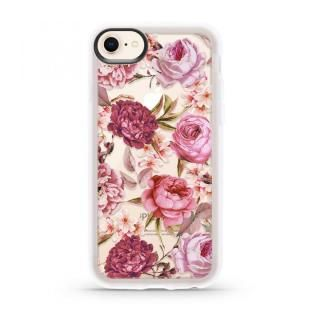 【iPhone8/7ケース】CASETIFY BLUSH PINK ROSE GRIP CASE ハードケース iPhone 8/7
