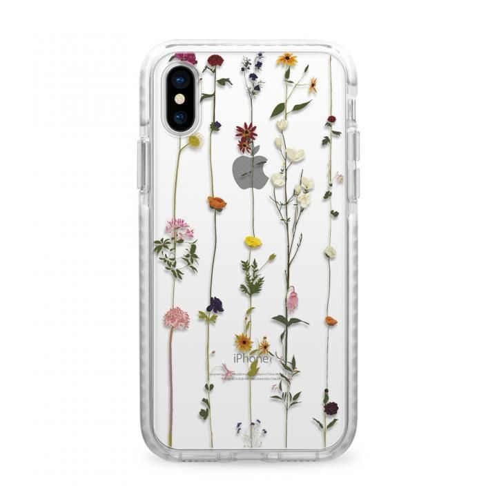 【iPhone Xケース】CASETIFY FLORAL  IMPACT CASE ハードケース iPhone X_0
