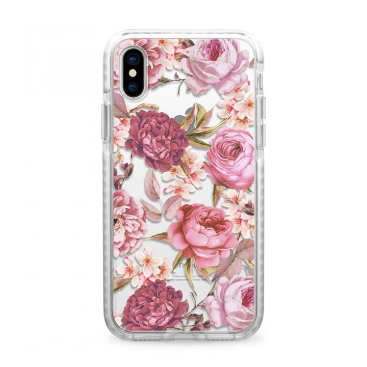 CASETIFY BLUSH PINK ROSE IMPACT CASE ハードケース iPhone X