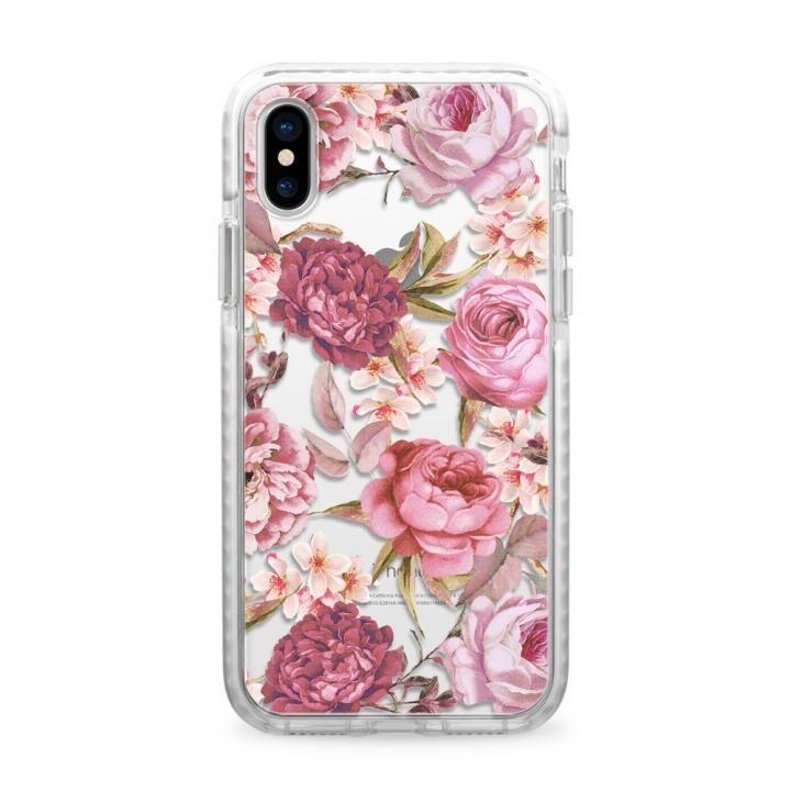 【iPhone Xケース】CASETIFY BLUSH PINK ROSE IMPACT CASE ハードケース iPhone X_0