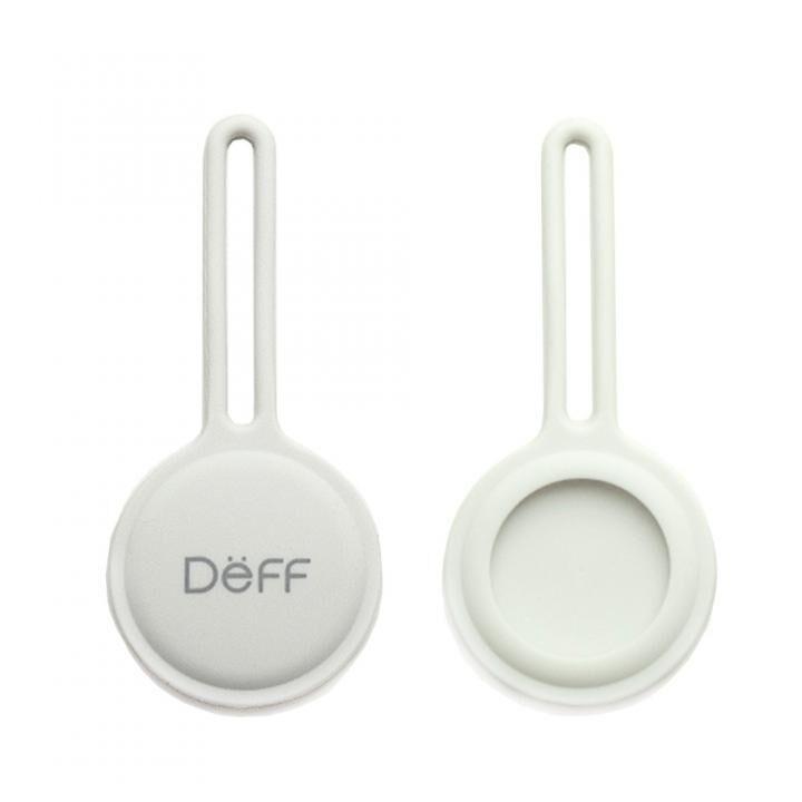 Deff STRAP for AirTag ホワイト【6月中旬】_0