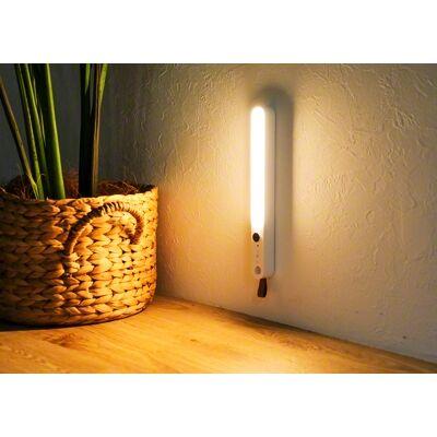 Qurra 人感センサー付LEDライト Oval オーヴァル ホワイト【6月上旬】_0