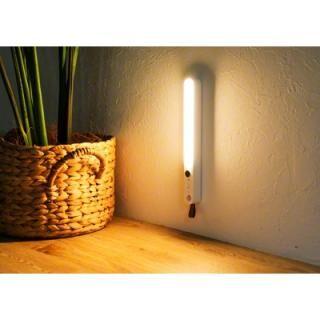 Qurra 人感センサー付LEDライト Oval オーヴァル ホワイト【6月上旬】