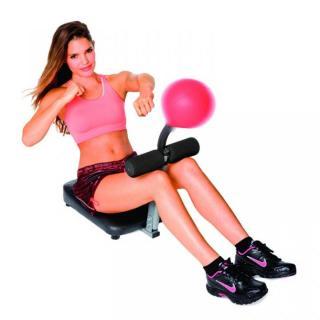 ボールをパンチして腹筋を鍛える 腹筋パンチャー_2