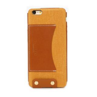 レザーケース WETHERBY PREMIUM イエロー iPhone 6 Plus