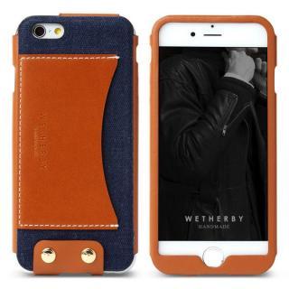 レザーケース WETHERBY PREMIUM ネイビー iPhone 6s/6