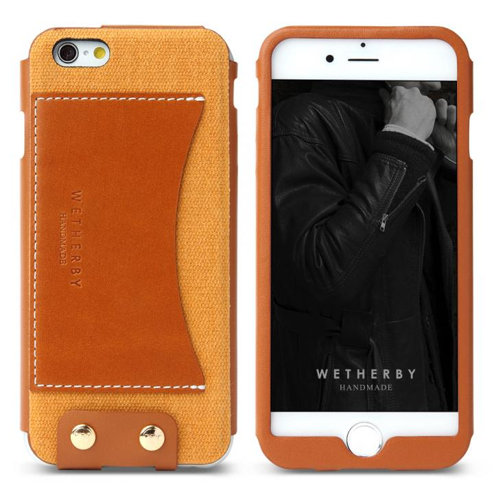 iPhone6 ケース レザーケース WETHERBY PREMIUM イエロー iPhone 6_0