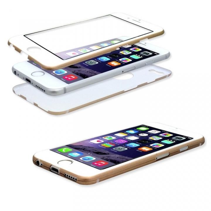 【iPhone6ケース】美しい外観、薄さそのままに本体全面を守るケース iGuard ゴールド iPhone 6_0