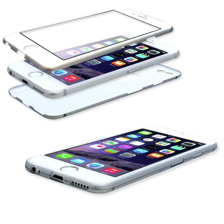 [2018バレンタイン特価]美しい外観、薄さそのままに本体全面を守るケース iGuard シルバー iPhone 6