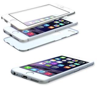 美しい外観、薄さそのままに本体全面を守るケース iGuard シルバー iPhone 6