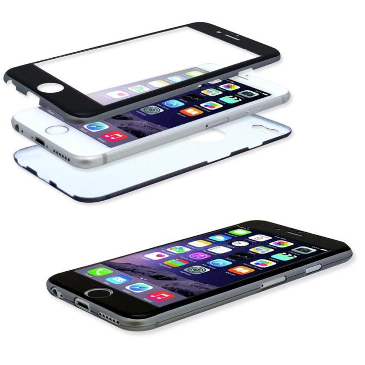 【iPhone6ケース】美しい外観、薄さそのままに本体全面を守るケース iGuard スペースグレイ iPhone 6_0