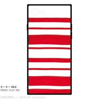 EYLE TILE ボーダー/レッド for iPhone 8/7
