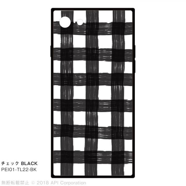 iPhone8/7 ケース EYLE TILE iPhoneケース チェック/ブラック iPhone 8/7_0
