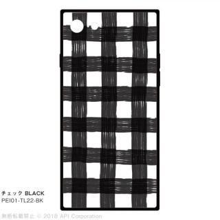 EYLE TILE iPhoneケース チェック/ブラック iPhone 8/7