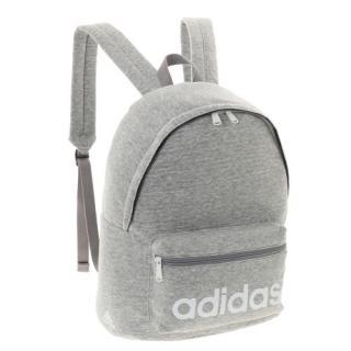 adidas リュック スポーツカジュアル 18L ジャージー素材 ミディアムグレーヘザー