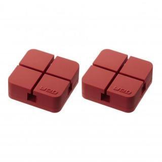 山崎実業 コードホルダー Sサイズ 2個組 レッド