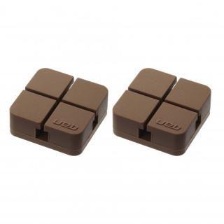 山崎実業 コードホルダー Sサイズ 2個組 ブラウン