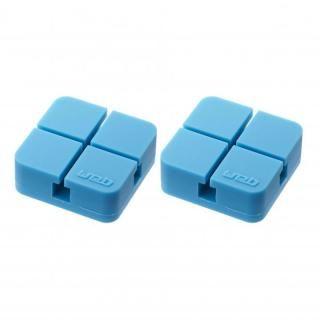 山崎実業 コードホルダー Sサイズ 2個組 ブルー