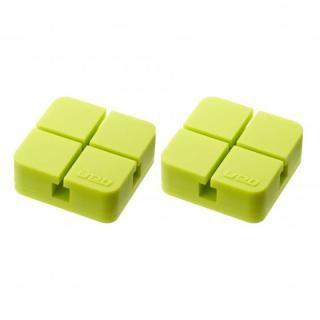 山崎実業 コードホルダー Sサイズ 2個組 グリーン