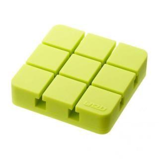 山崎実業 コードホルダー Lサイズ グリーン