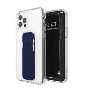 iPhone 12 / iPhone 12 Pro (6.1インチ) ケース clckr Gripcase Clear clear/blue iPhone 12/12 Pro