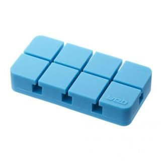 山崎実業 コードホルダー Mサイズ ブルー