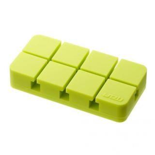 山崎実業 コードホルダー Mサイズ グリーン