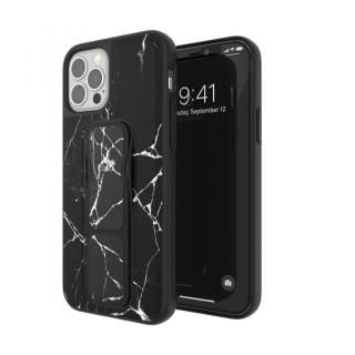 iPhone 12 / iPhone 12 Pro (6.1インチ) ケース clckr Gripcase Marble marble black iPhone 12/12 Pro