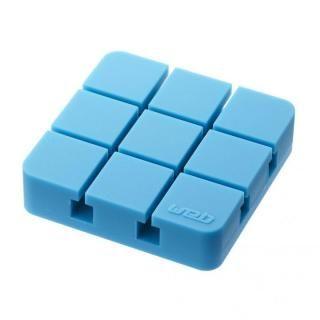 山崎実業 コードホルダー Lサイズ ブルー【6月上旬】
