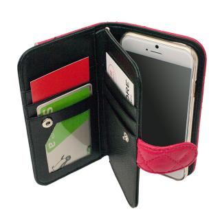 【iPhone6ケース】クラッチタイプ 手帳型ケース ブラック iPhone 6_2