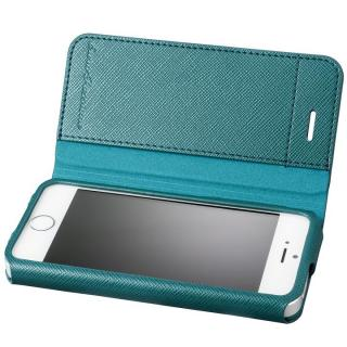 GRAMAS COLORS PUレザー手帳型ケース EURO Passione グリーン iPhone SE/5s/5