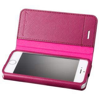 GRAMAS COLORS PUレザー手帳型ケース EURO Passione レッド iPhone SE/5s/5
