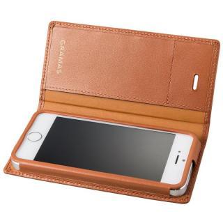 GRAMAS フルレザー手帳型ケース タン iPhone SE/5s/5【9月上旬】