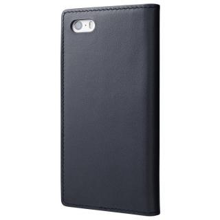 【iPhone SE/5s/5ケース】GRAMAS フルレザー手帳型ケース ネイビー iPhone SE/5s/5_2
