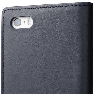【iPhone SE/5s/5ケース】GRAMAS フルレザー手帳型ケース ネイビー iPhone SE/5s/5_6