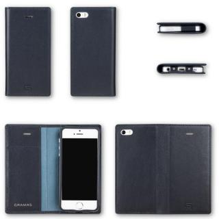 【iPhone SE/5s/5ケース】GRAMAS フルレザー手帳型ケース ネイビー iPhone SE/5s/5_9