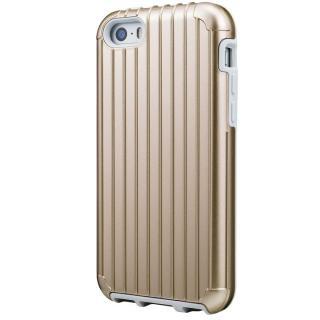 GRAMAS COLORS Rib ハイブリッドケース ゴールド iPhone SE/5s/5